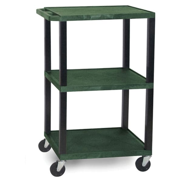 Offex Hunter Green Mobile Tuffy Cart