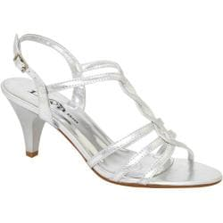Women's Lava Shoes Faith Silver Metallic