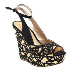 Women's Luichiny Delite Me Black/Gold Imi Suede