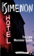The Late Monsieur Gallet (Paperback)