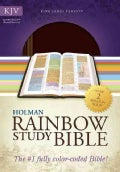 Holman Rainbow Study Bible: King James Version, Brown/Chestnut, Leathertouch (Paperback)