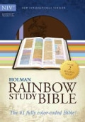 Holman Rainbow Study Bible: New International Version, Brown/Lavender, Leathertouch, Rainbow Study Bible (Paperback)