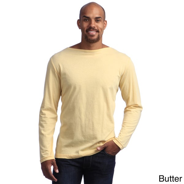 American Apparel Unisex Long Sleeve Boat Neck Shirt