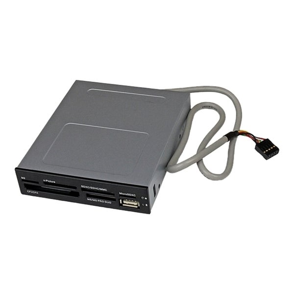 StarTech.com 3.5in Front Bay 22-in-1 USB 2.0 Internal Multi Media Mem