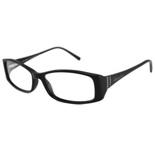 Kenneth Cole Readers Women's KC148 Rectangular Black Reading Glasses
