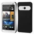 BasAcc Black/ White Card Wallet Back Case for HTC One M7