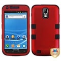 BasAcc Red/ Black TUFF Hybrid Case for Samsung T989 Galaxy S II/ S2