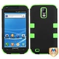 BasAcc Black/ Green TUFF Hybrid Case for Samsung T989 Galaxy S II/ S2
