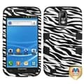 BasAcc Zebra/ Black TUFF Hybrid Case for Samsung T989 Galaxy S II/ S2