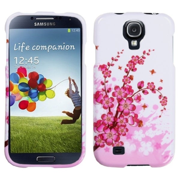 INSTEN Spring Flowers Phone Case Cover for Samsung Galaxy S4/ S IV i9500/ i337