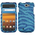 BasAcc Zebra Blue Diamond Case for Samsung T679 Exhibit II 4G
