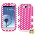 BasAcc TUFF Hybrid Dots Case for Samsung Galaxy S3/ S III i9300