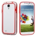 BasAcc Red/ Clear MyBumper Case for Samsung Galaxy S4 i9500/ i337