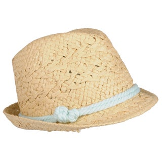 Journee Collection Women's Woven Paper Fedora