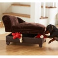 Enchanted Home Pet Ultra Plush Brown Storage Bed