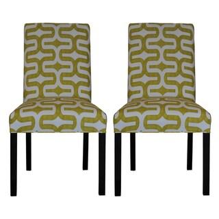Embrace Artist Green Dining Chair (Set of 2)
