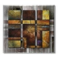 Michael Lang 'Rendered' Metal Wall Art