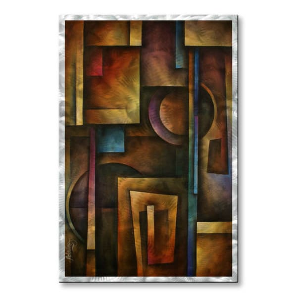 Michael Lang 'The Future' Metal Wall Hanging