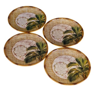 Certified International Las Palmas Canape Plates (Set of 4)