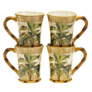 Certified International Las Palmas Mugs (Set of 4)
