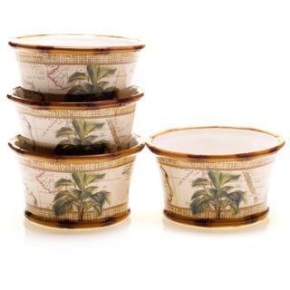Certified International Las Palmas Ice Cream Bowls (Set of 4)