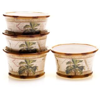 Certified International Las Palmas Ice Cream Bowls (Set of 4)