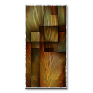 Michael Lang Tri Fold Ribbon Metal Wall Decor 3 Piece