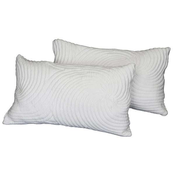 Integrity Bedding Memory Foam Ribbon Pillow (Set of 2 or 4)
