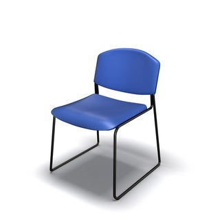 Mayline 2300 Series Polypropylene Vinyl Stacking Chair (Set of 4)