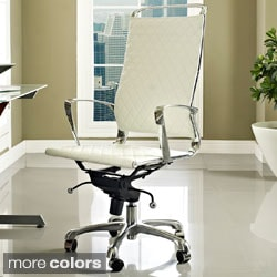 Vibe Modern Leatherette Highback Office Chair
