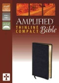 The Amplified Bible: Black, Bonded Leather, Thinline (Paperback)