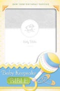 Baby Keepsake Bible: New International Version, Italian Duo-Tone, White, Ribbon Marker (Paperback)