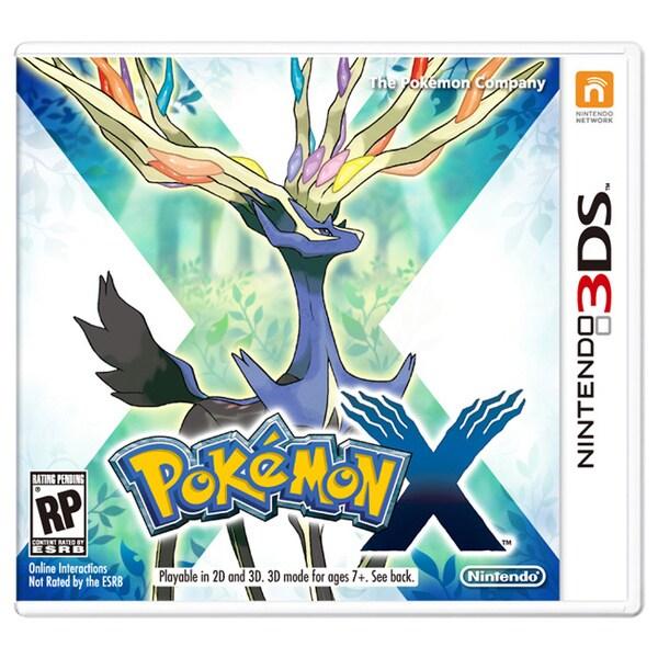 Nintendo 3DS - Pokemon X