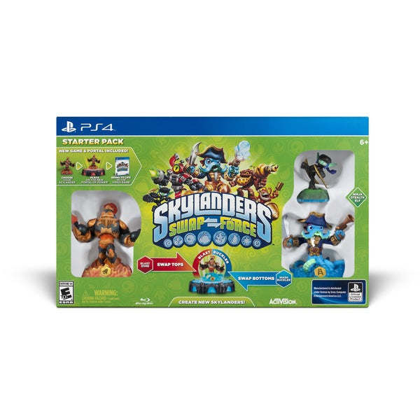 PS4 - Skylanders SWAP Force Starter Pack 11379570
