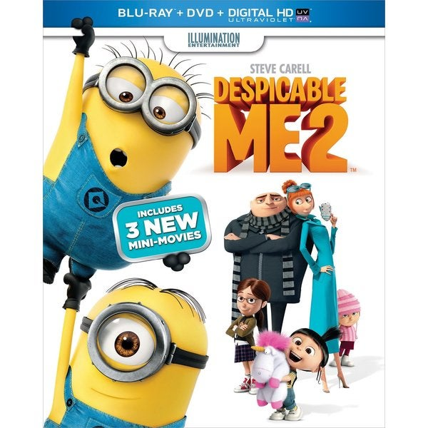 Despicable Me 2 (Blu-ray/DVD) 11379794