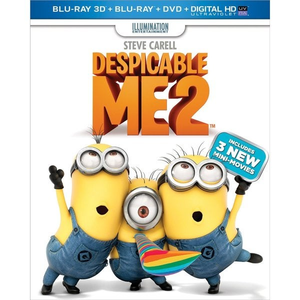 Despicable Me 2 3D (Blu-ray/DVD) 11379798