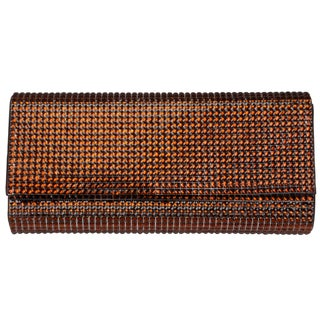 Journee Collection Women's Bejeweled Single-Chain Fold-Over Evening Clutch