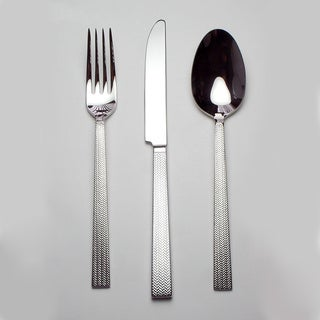 'Rattan' 40-piece Flatware Set