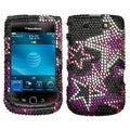BasAcc Star Diamante Case for Blackberry 9800 Torch/ 9810 Torch 4G
