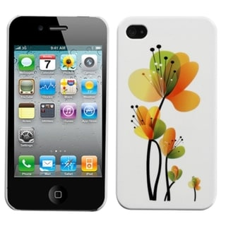 INSTEN Sunny Springtime Back Phone Case Cover for Apple iPhone 4/ 4S