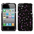 BasAcc Starburst Flower Black Case for Apple iPhone 4/ 4S