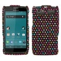 BasAcc Sprinkle Dots Diamante Case for Motorola XT881 Electrify 2
