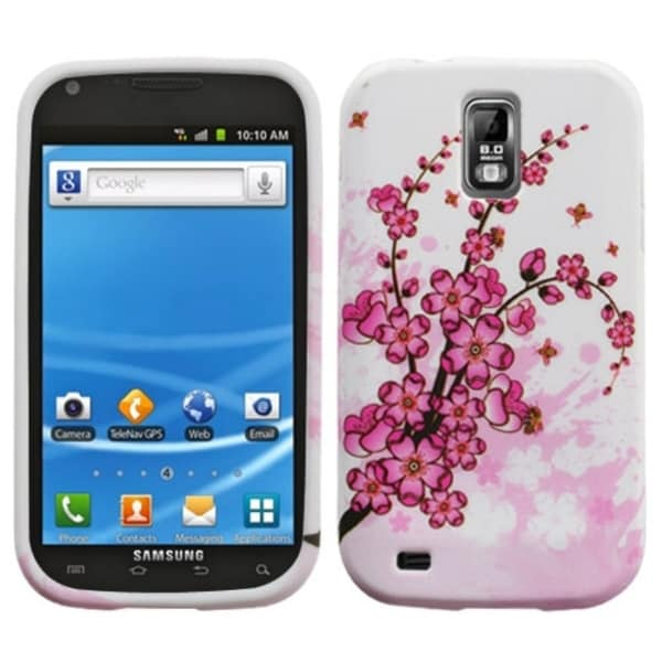 INSTEN Spring Flowers Candy Skin Phone Case Cover for Samsung T989 Galaxy S II