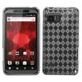 BasAcc T-Clear Argyle Pane Candy Case for Motorola XT875 Droid Bionic