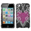 BasAcc Trapped Heart Diamante Case for Apple iPod Touch 4