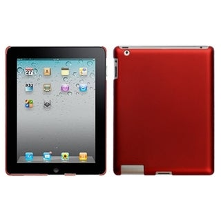 BasAcc Titanium Red Back Case for Apple iPad 1/ 2/ 4