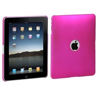 BasAcc Titanium Hot Pink Ring Back Case for Apple iPad