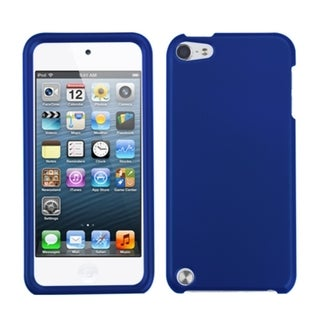 INSTEN Titanium Dark Blue iPod Case Cover for Apple iPod Touch 4