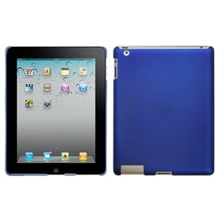 BasAcc Titanium Dark Blue Back Case for Apple iPad 2/ 4