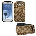 BasAcc Tiger Skin Diamante Fusion Case for Samsung Galaxy S III 3